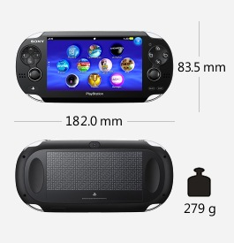 Parametry handheldu Sony PS Vita